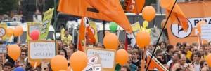 Infostand Glücklich ohne Überwachung @ Wanne-Eickel | Herne | Nordrhein-Westfalen | Deutschland