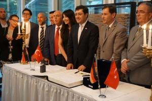 Unterzeichnung Städtepartnerschaft