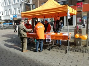 Informationsstand zur Landtagswahl @ Herne, Bahnhofsstraße 53 | Herne | Nordrhein-Westfalen | Deutschland