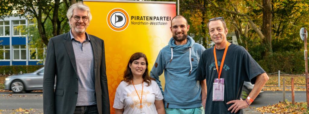Vorstand Piratenpartei NRW